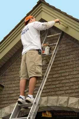 Kültéri fafelület festése, de hogyan?