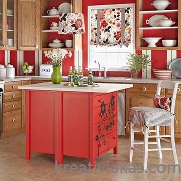 Bútorok festősablonozása