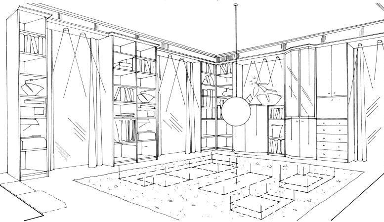 Bútorozási terv