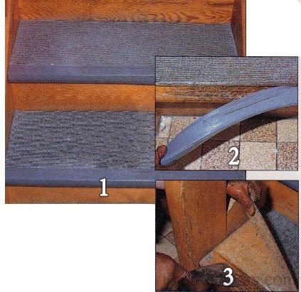 Ragasztott lépcsőburkolat felújítása 1