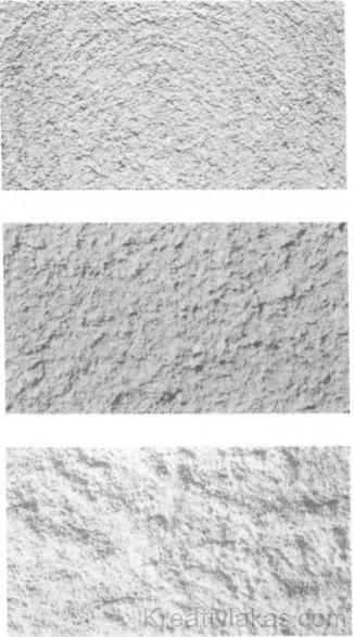 Kétrétegű nemes vakolati struktúrák