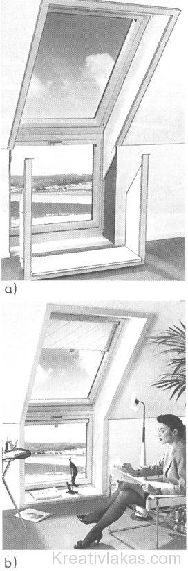 Tetőablak keretbeépítése