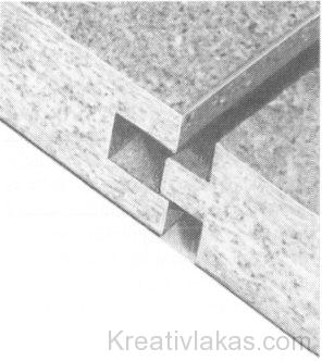 Cementkötésű faforgácslap soroló horonnyal
