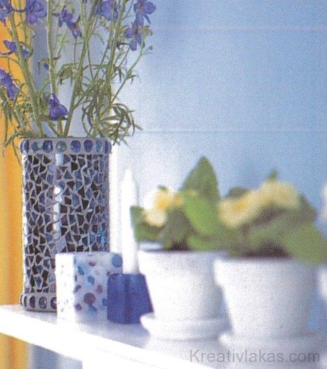 E stílushoz kitűnően illenek a színes, dekoratív kiegészítők