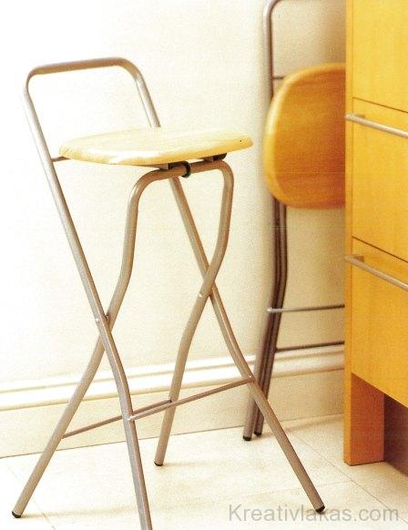 A formatervezett, összecsukható konyhai székek