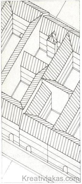 14. ábra: I, L, U alakú beépítés.