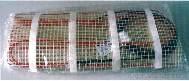 19. ábra. A gyártó által becsomagolt fűtőszőnyeg