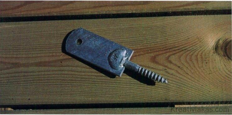 Horganyzott acél rögzítőelem