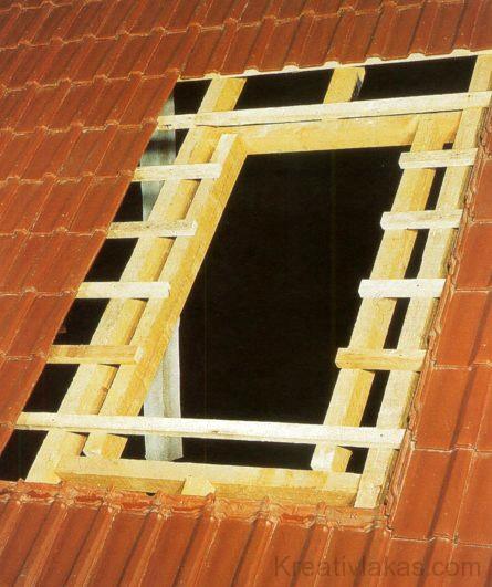 Tetőablak beépítése