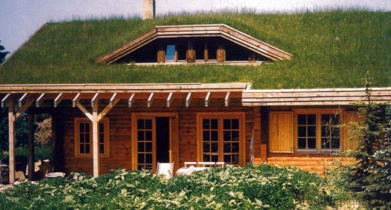 12.1. ábra. Zöldtető-kialakítás tetőtéri ablakokkal