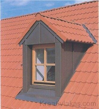 Az előre gyártott tetőfelépítményes ablak gyorsan beszerelhető
