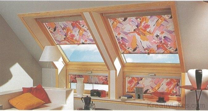 Az északi erdeifenyőből készült tetősíkablakok tükrözik a természetes fa utolérhetetlen hangulatát
