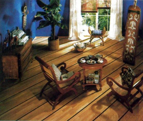 A barna padló megbízhatóságot, ellenálló képességet és tartósságot sugároz