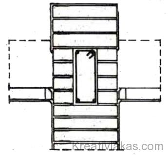 79. Ábra: Csökkentett méretű koszorú.