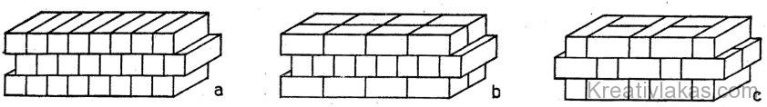 Soklyukú ikertéglából épített falazat