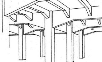 Hennebique-rendszerű vasbeton födém