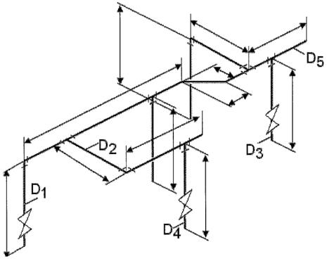 6.6. ábra. Gyártmányterv jellemző méreteivel.